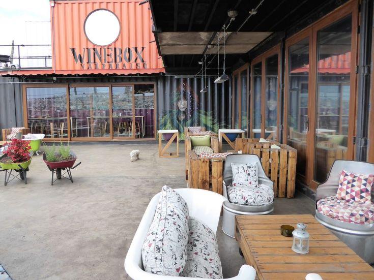 Wine Box Terrasse