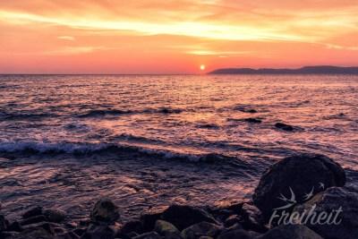 Und noch ein Sonnenuntergangsfoto ;)
