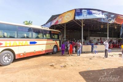 Unser Bus nach Phnom Penh