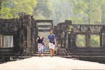 Am Baphuon Tempel - Pavillion