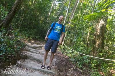 Durch den Dschungel zu den Wasserfällen