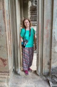Angkor Wat - Schultern und Knie müssen bedeckt sein