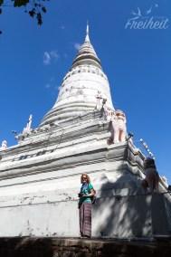 Wat Penh - Stupa mit den Reliquien eines verstorbenen Königs