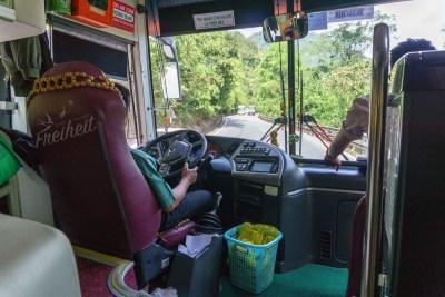 Busfahrt nach Dalat