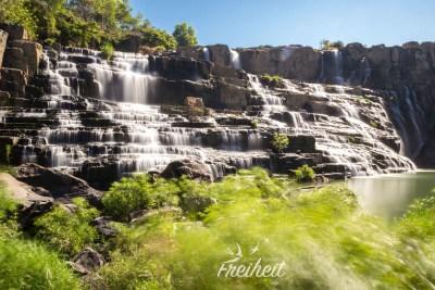Pongour Wasserfall - Langzeitbelichtung