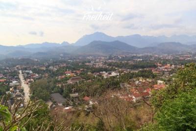 Ausblick vom Phou Si