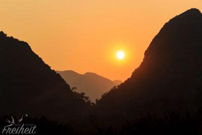 Sonnenuntergang Muang Noi
