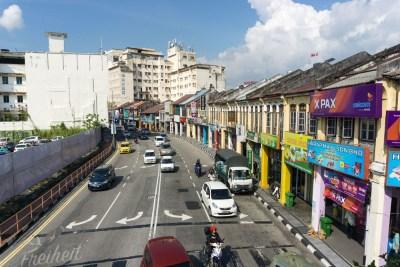 Tolle Straßenzüge in George Town