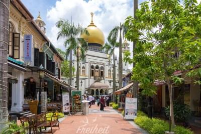 Nein wir sind nicht im Orient, aber im arabischen Viertel von Singapur :)