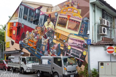 Street Art in Little India