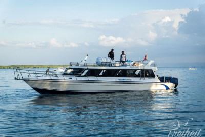 Speedboat nach Bali