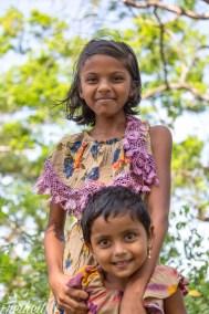 Diese Mädchen wollten unbedingt fotografiert werden :)