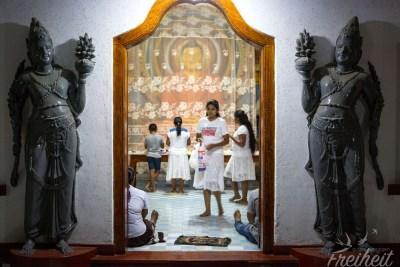 Im Sri Sudarshanarama Bodimalu Viharaya Tempel