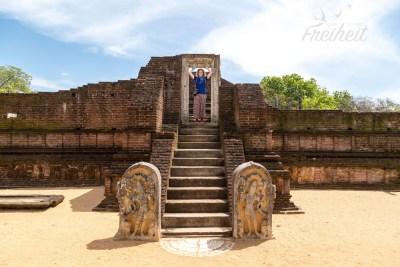 Manik Vehera - eine Klosteranlage vermutlich aus dem 8. - 9. Jahrundert