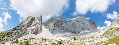 Dolomiten mitten in den Julischen Alpen ;-)