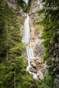 Unterer Martuljkov Wasserfall