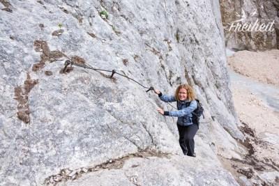 Im Klettersteig