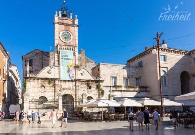 Narodni Trg (Volksplatz) von Zadar