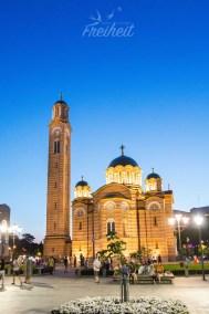 Christ-Erlöser-Kathedrale zur blauen Stunde