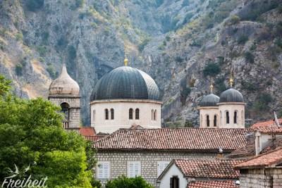 Die im Jahr 1909 erbaute orthodoxe Kirche St. Nikolaus