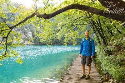 """Am Kaluderovac See - hier wurder """"Der Schatz am Silbersee"""" gedreht"""