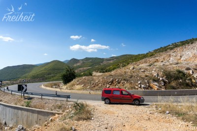 Wieder in Albanien