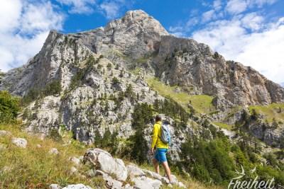 Schöne Alpinwelt