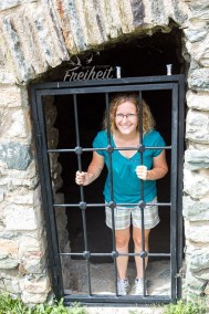 Ehemalige Gefängniszellen der Festung