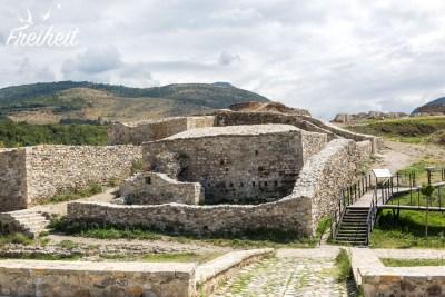 Auf dem Platz der Festung fand man menschliche Besiedlungsspuren aus der Bronzezeit
