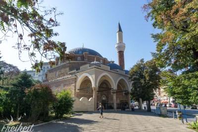 Die Banja-Baschi-Moschee aus der osmanischen Herrschaft