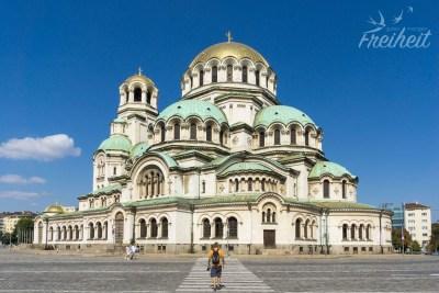 Wahrzeichen von Sofia: Alexander-Newski-Kathedrale