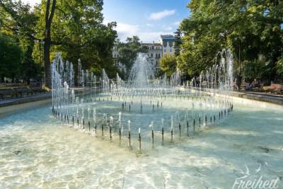 Stadtpark gegenüber des Nationaltheater Iwan Wasow
