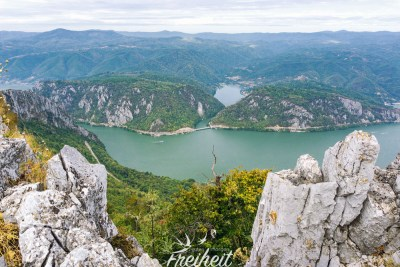 Ausblick nach Rumänien
