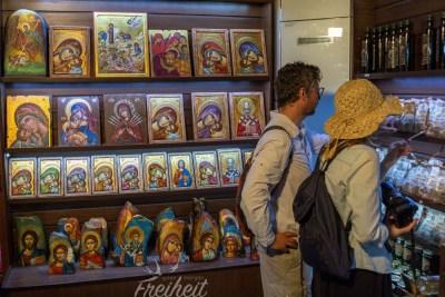 Ikonenshop direkt im Kloster