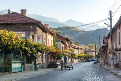 Ein-PS-Kutschen sind nicht ungewöhnlich in Bulgarien