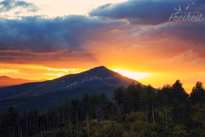 ...und schwupps ist die Sonne hinterm Berg