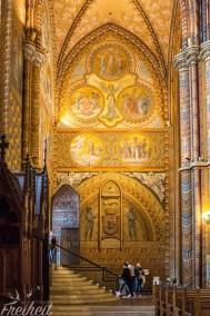 Matthiaskirche - es lohnt sich den Eintritt zu bezahlen