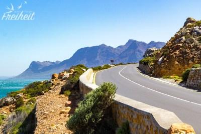 Küstenstraße nach Kapstadt
