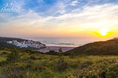 Praia de Odeceixe im Abendlicht