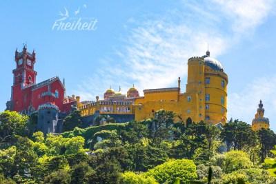 Der Pena Palast wurde bis ins Jahr 1910 von der Königsfamilie bewohnt