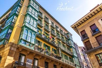 Bilbaos bunte Altstadt