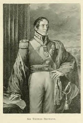 Sir Thomas Brisbane.