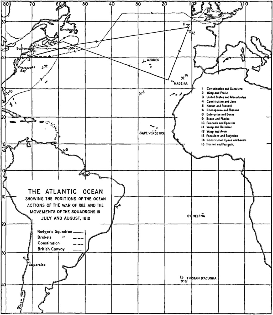 The Pg Ebook Of Sea Power In Its Relations To The War Of V 1 By Captain A T Mahan D C