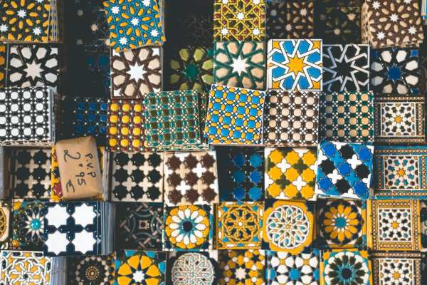 Colored Tiles
