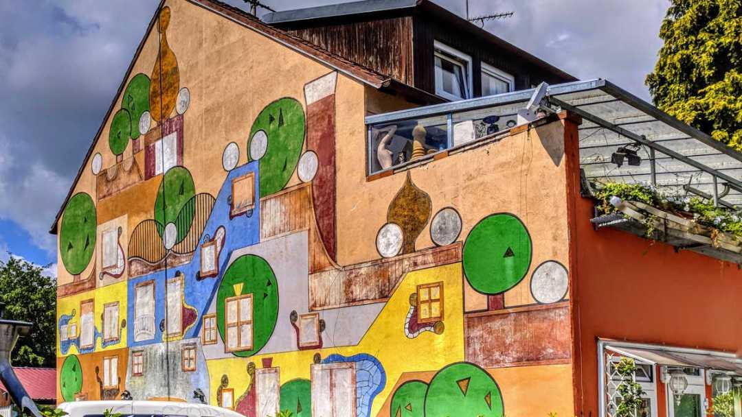 Mural Art in Kenzingen, Germany. Photo by Birgit Pauli-Haack