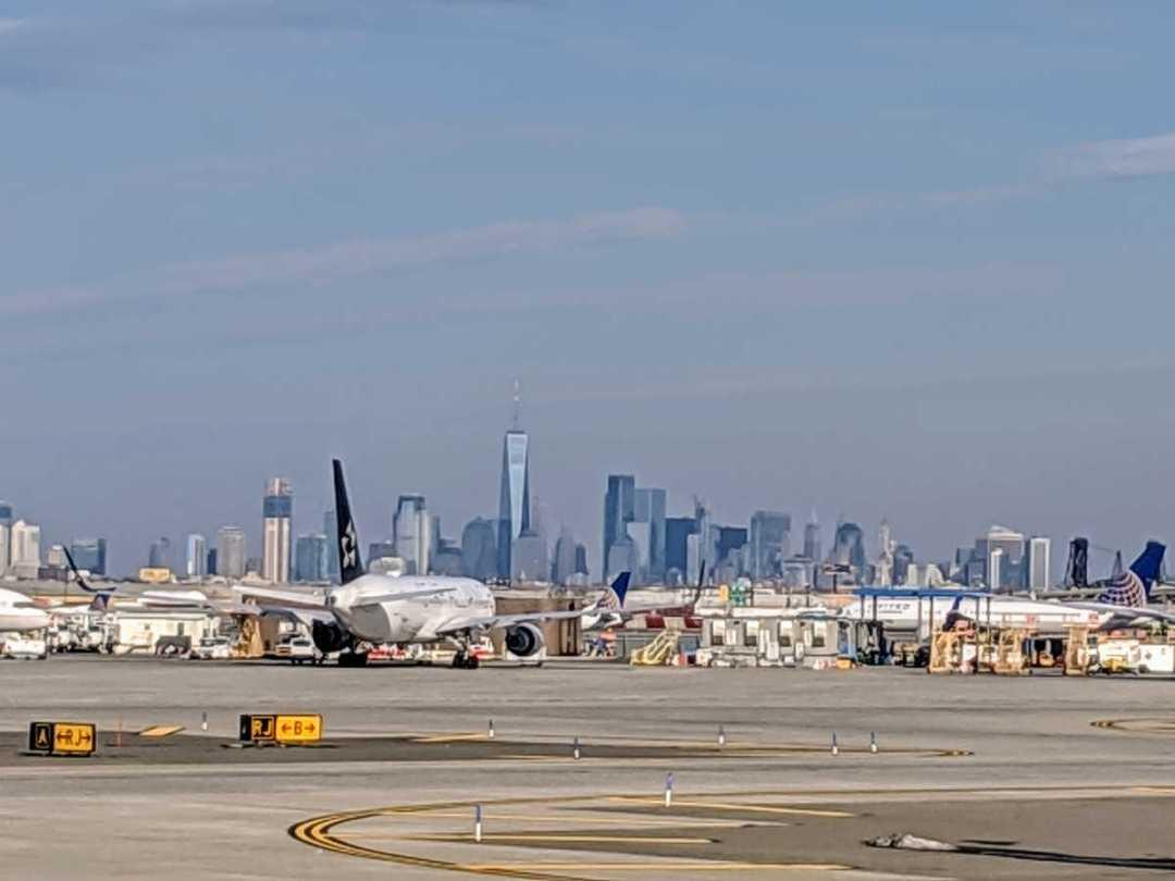 Airport Newark, NJ by Birgit Pauli-Haack