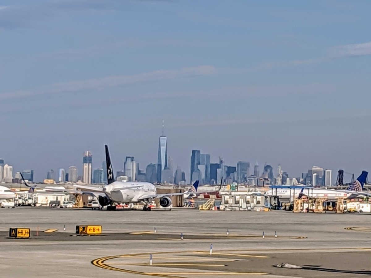 Airport Newark, NJ by Birgit Pauli-Haack