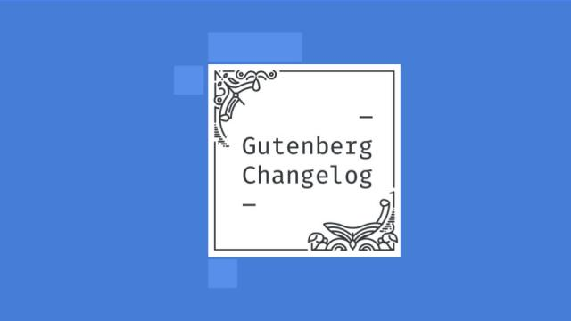 Gutenberg-Changelog Episode 33 Cover