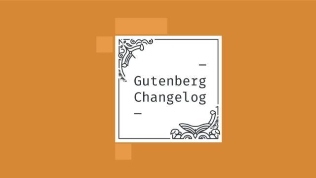 Gutenberg Changelog Episode 35 Cover