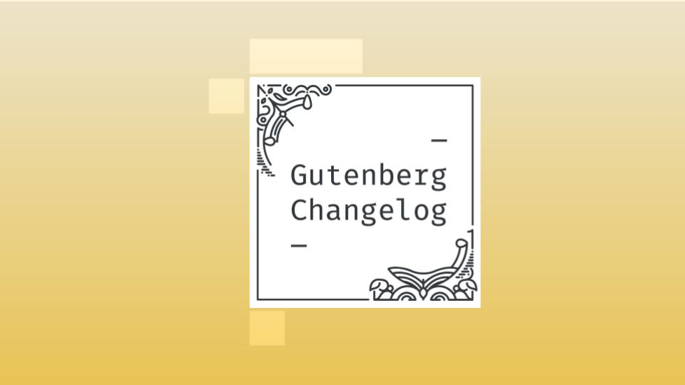 Gutenberg Changelog Episode 37 cover